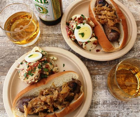 beer brats beer brats and sauerkraut recipe