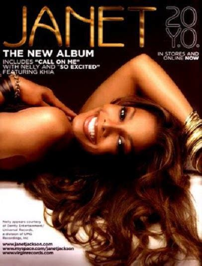 Cd Janet Jackson 20 Yo from fame media janet jackson album promo adverts