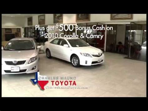 Maund Toyota Charles Maund New Commercial