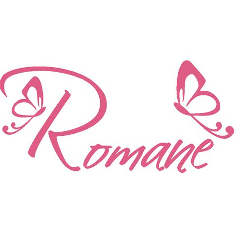 le romane stickers romane papillons stick