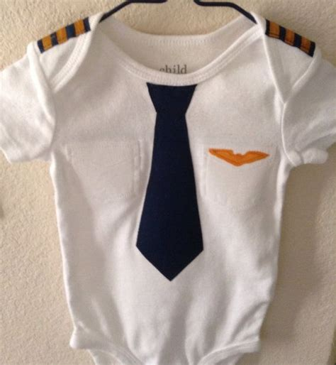 airplane clothing for babies baby airline pilot by eviesgift on etsy 20 00 a