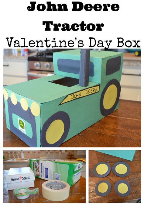 s day box easy tractor s day box vintage nest