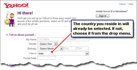 yahoo email id create domains yahoo make yahoo email address instructions for