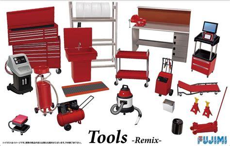 garage tools on ebay fujimi gt28 114392 garage tool series tools remix 1 24 scale kit unpainted ebay