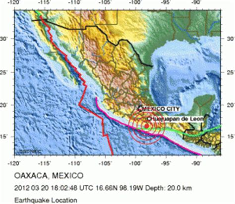 earthquake yesterday in mexico earthquake map yesterday