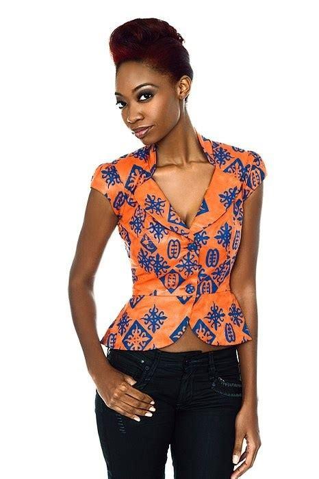 ankara tops and jackets select a fashion style the ankara peplum top styles a