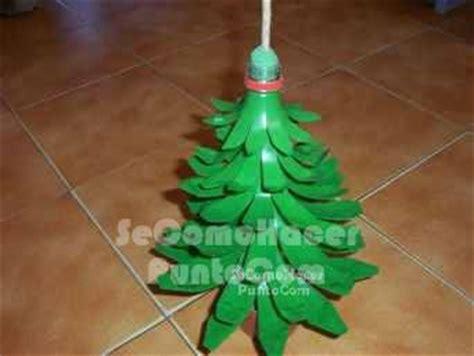 rbol de navidad reciclado manualidades reciclado navide 241 o de los pl 225 sticos arboles de navidad reciclados
