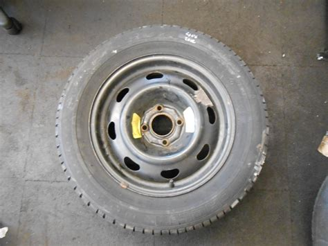 peugeot 406 pcd peugeot 406 1995 2004 4 stud steel wheel michelin 205