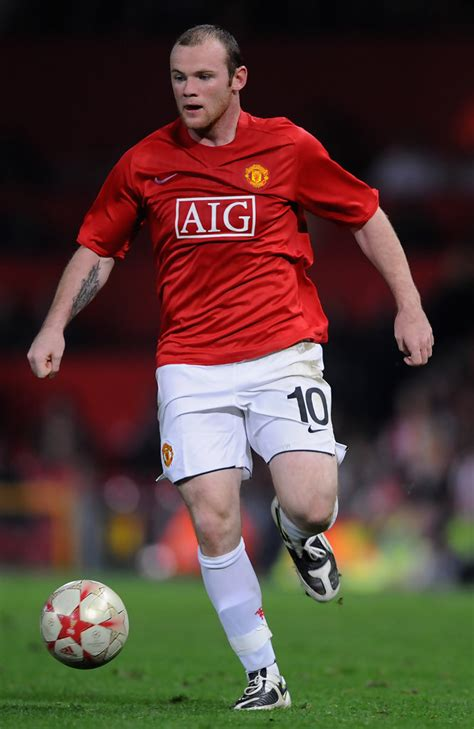 wayne rooney photos photos manchester united v
