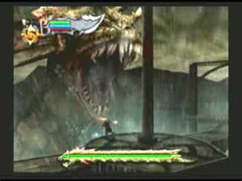 god of war 1 hydra boss youtube