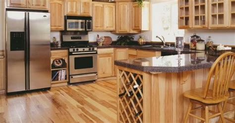 hickory kitchen cabinets wholesale hickory kitchen cabinets with dark granite countertops