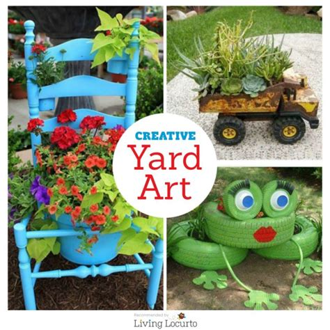 diy craft projects for the yard and garden diy yard and garden ideas outdoor crafts