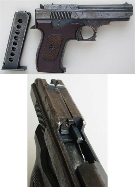 Handmade Pistol - semi auto pistols part 2 russia europe
