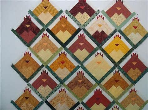 Patchwork Chickens - 17 best ideas about chicken quilt on patchwork
