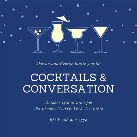 Customize 243 Happy Hour Invitation Templates Online Canva Happy Hour Invite Template
