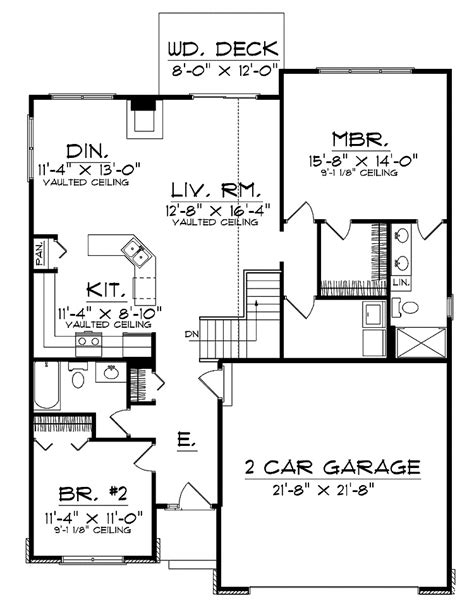 ranch style house plans with open floor plan ranch house contemporary open floor plans for ranch style homes with