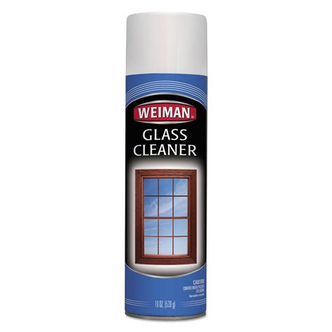 glass msds foaming glass cleaner by weiman 174 wmn10ct ontimesupplies