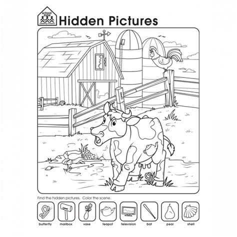 printable simple hidden pictures free hidden pictures worksheets activity shelter
