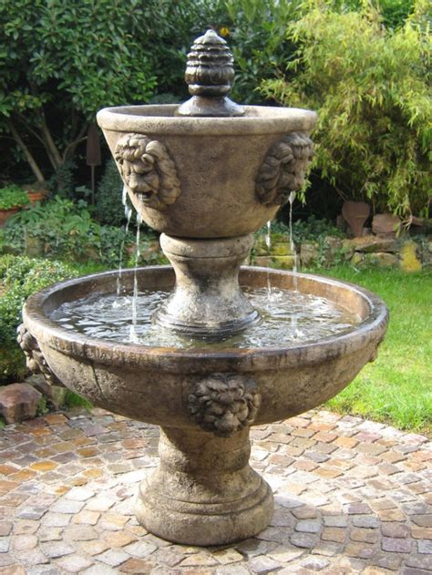 Gartenbrunnen Mit Dach gartenbrunnen cinque terre zweistufig wenk