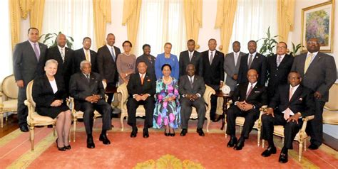 Who Are The Cabinet Members Photo Bahamas Cabinet At Government House Annual