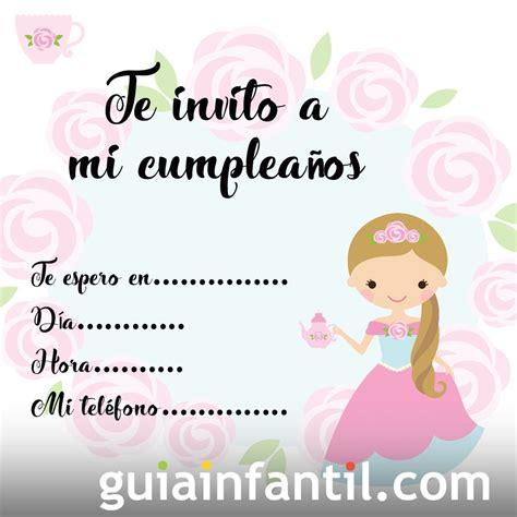 para imprimir de invitacion a fiestas de cumpleanos infantiles view invitaciones para una fiesta de princesas fiesta101
