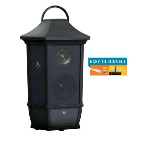 Acoustic Research Main St Style Indoor Outdoor Wireless Wireless Speakers For Patio