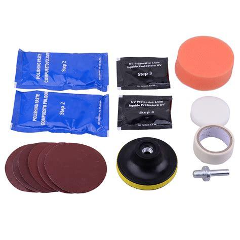 Scheinwerfer Polieren Politur by Scheinwerfer Aufbereitung Polier Set R 252 Cklichter Polieren