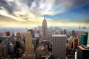 vue sur manhattan new york tableau grand format
