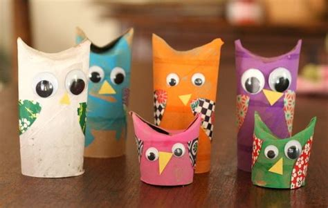 Paper Towel Crafts For Preschoolers - v paper towel roll crafts