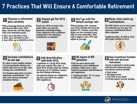 8 Tips For Adjusting To Retirement by Infographic 8 Retirement Tips That Will Ensure A