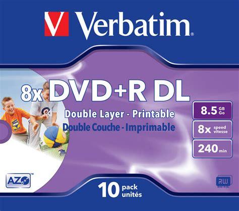 Dvdr Verbatim verbatim dvdr dual layer 85 plus r datastores