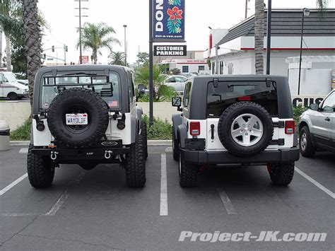 stock jeep vs lifted tj vs jk photos jk forum com the top destination for