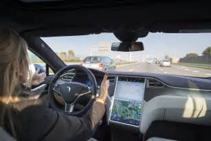tesla person tesla autopilot stops uber driver s car crash