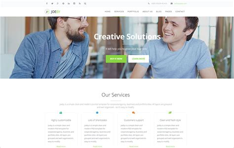 joomla templates for small business 30 best joomla business templates free responsive themes