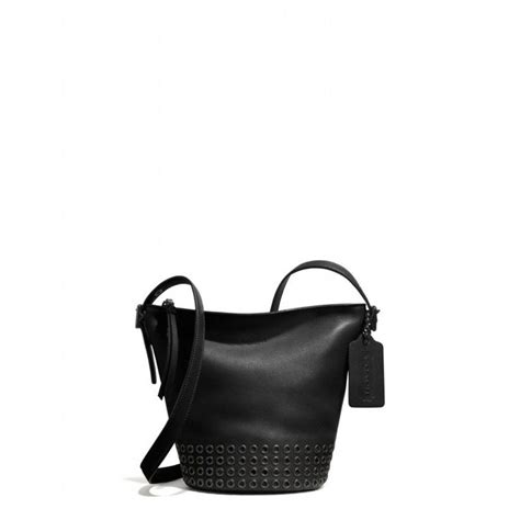Mandy And Coach Bleeker Duffle by The Bleecker Grommets Mini Duffle Bag In Leather From