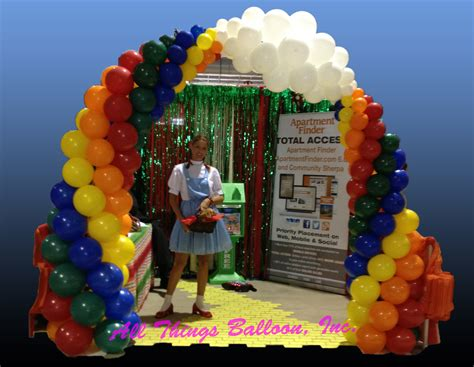 the decorations balloon arches trade shows and corporate company events