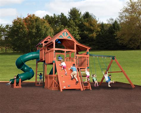 backyard adventures outdoor playsets yutka fence