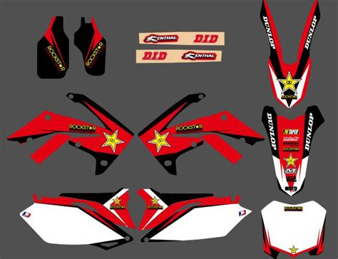 Buy Wholesale Honda Decal Kit - aliexpress buy 0098star new style team graphics
