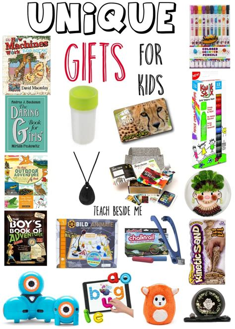 unique gifts for kids teach beside me