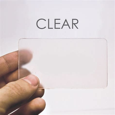how to make plastic cards clear blank plastic cards 500 plastic card id