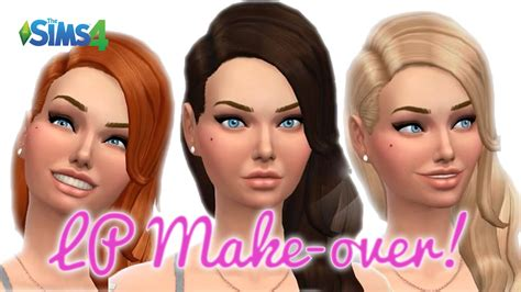 my makeover my sims 4 let s play makeover youtube