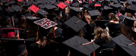 Of Alabama Mba Program by Commencement The Of Alabama