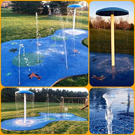backyard splash pad hours of backyard fun my splash pad residential spray