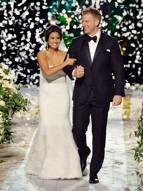 Sean And Catherine | the bachelor s sean lowe marries catherine giudici