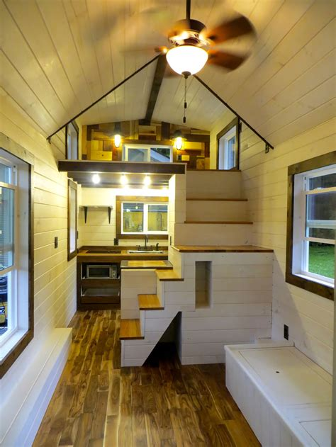 interior of small house brevard tiny house company tiny house design