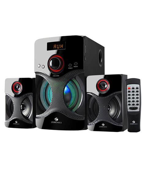 buy zebronics bt rucf  bluetooth speakers black