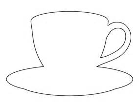 Cup Template by Coffee Cup Pattern Use The Printable Outline For Crafts