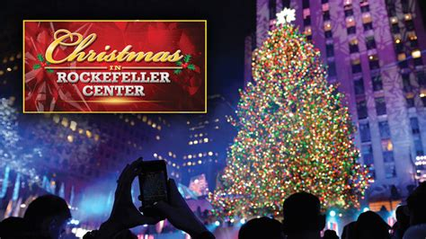 tree lighting rockefeller center in rockefeller center nbc