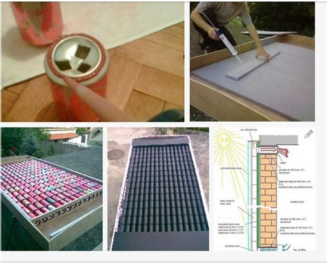 how to solar cell make at home how to make a solar panel out of soda cans