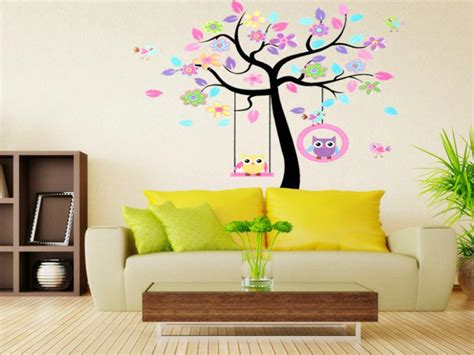 home decor auction topsalestore home decor rooms decal wallpaper owls tree